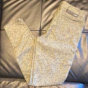 Hurley Cheetah print skinny pants